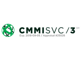 Certified CMMI level 3