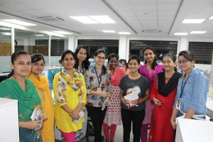 Women's day celebrated ADCC infocad Limited