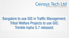 banglore to use in GIS in traffic management