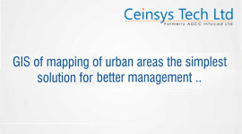 gis mapping of urban area