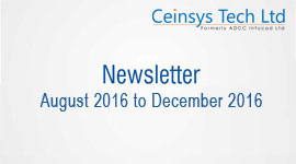newslatters August 2016 to December 2016