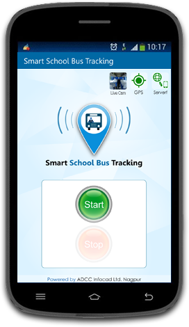 School Bus Tracking Driver App
