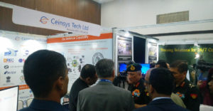Ceinsys Tech Ltd. Exhibited in an Event, 3rd Defence Attaches Conclave