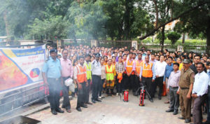 Mock Fire-cum-Evacuation Drill held at Ceinsys Tech Ltd., Nagpur